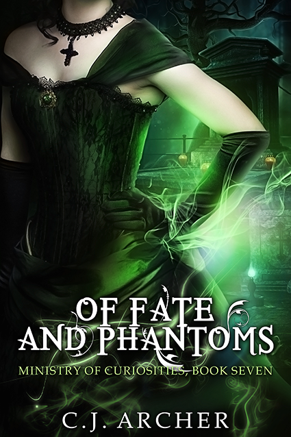 "Cover: ""Of Fate and Phantoms"" by CJ Archer"