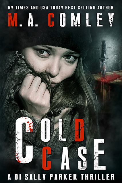 """Cover: """"Cold Case"""" by M.A. Comley"""
