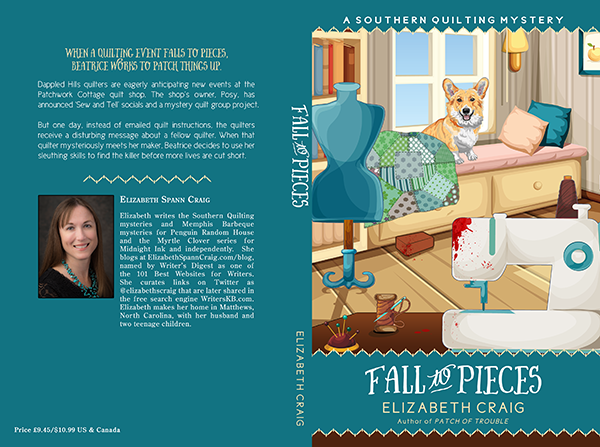 """Cover: """"Fall to Pieces"""" by Elizabeth S. Craig"""