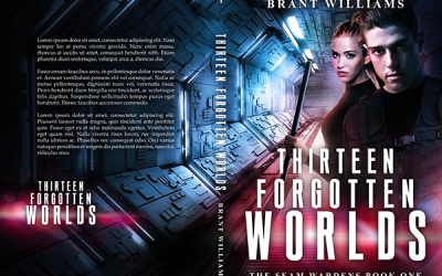 "Cover: ""Thirteen Forgotten Worlds"" by Brant Williams"
