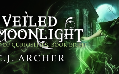 "Cover: ""Veiled in Moonlight"" by CJ Archer"